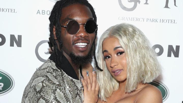 Offset Puts Tattoo Of Cardi B On His Neck Video: Offset Gets 'Cardi B' Neck Tattoo