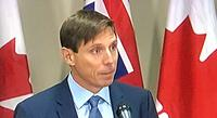 Ontario PC Leader Patrick Brown at a news conference January 24, 2018.