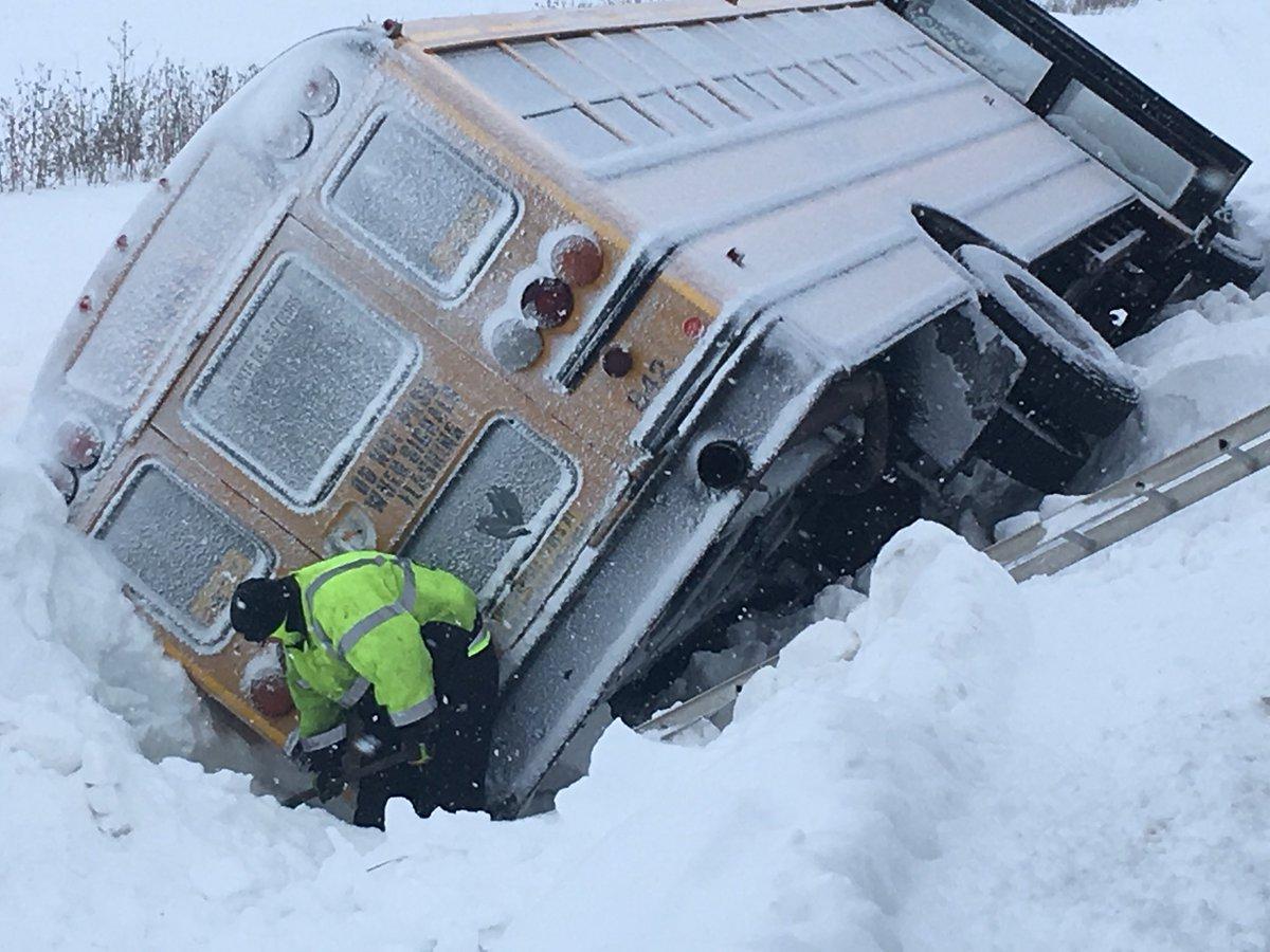VIDEO: School Bus Crash In Essex County
