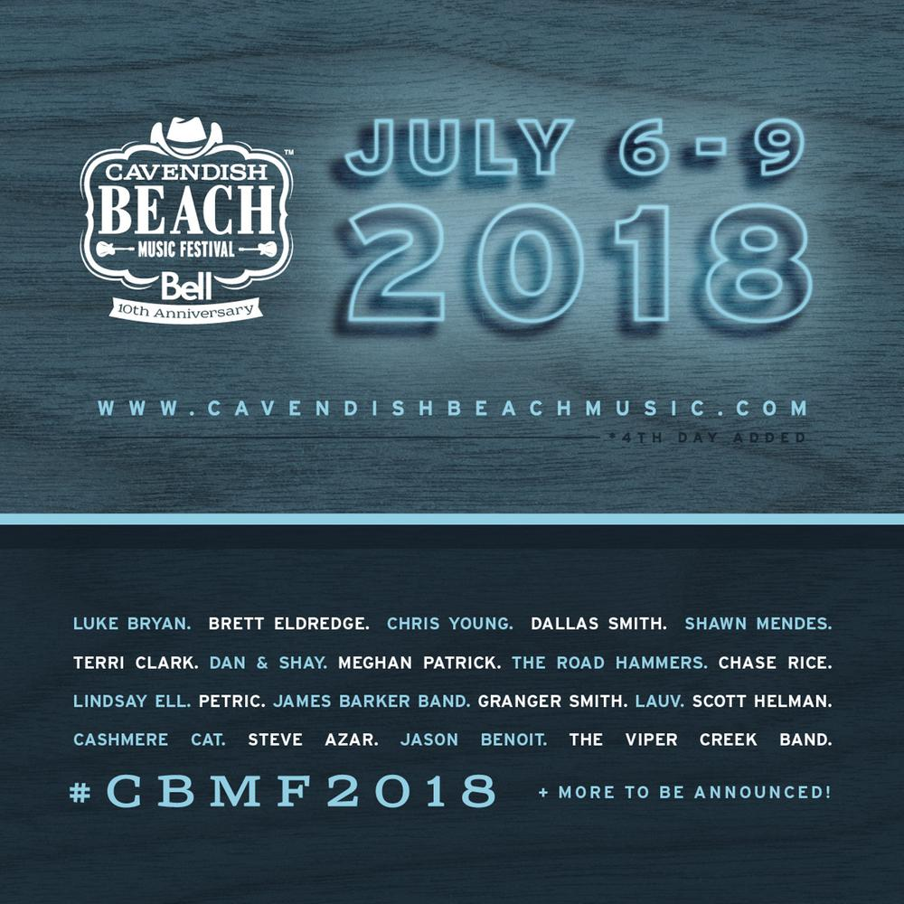 See Shawn Mendes at the Cavendish Beach Music Festival