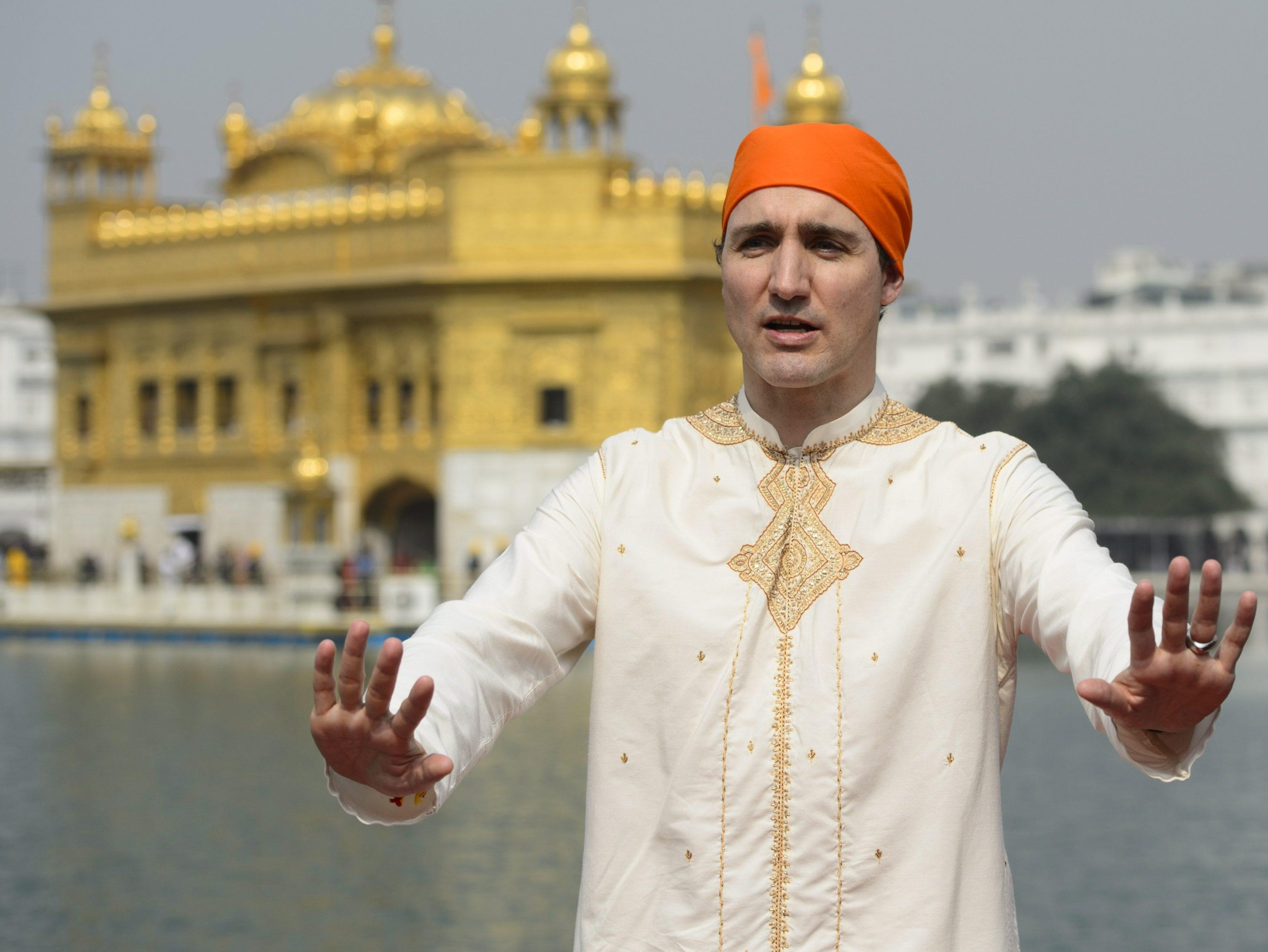 Critics slam New Year's Eve parody of Trudeau's trip to India