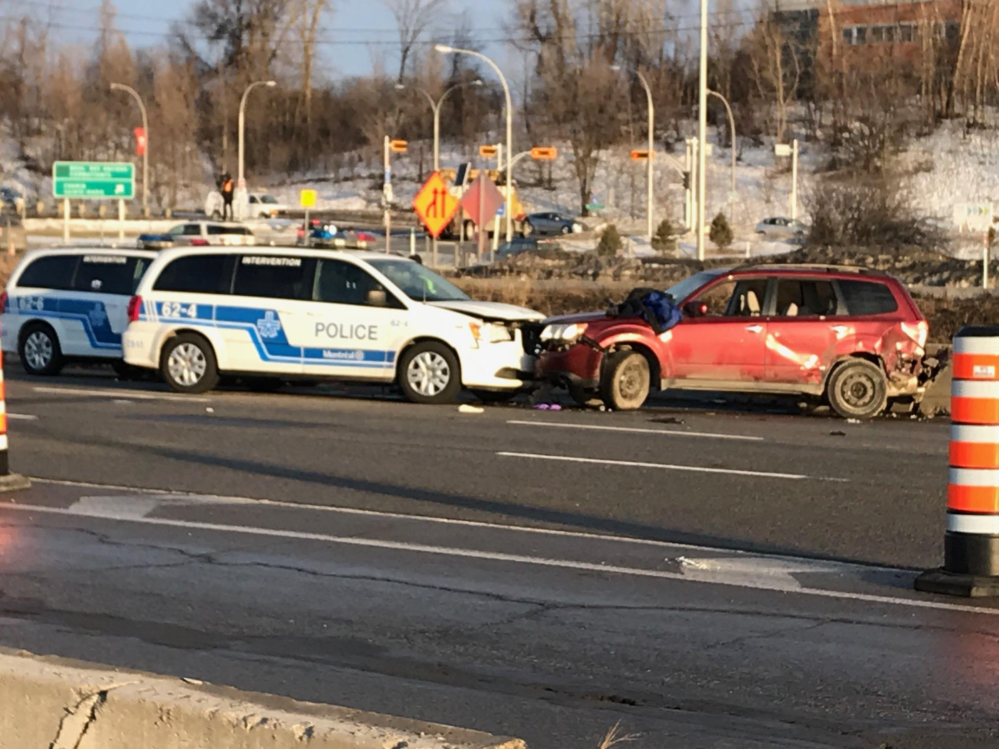Police shooting leads to high-speed chase on the West Island