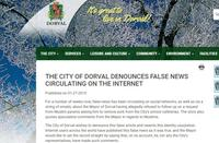 City of Dorval website