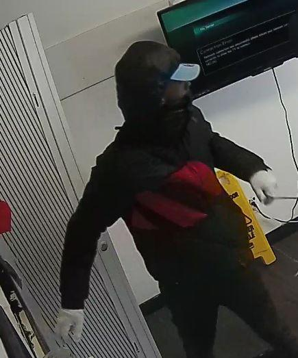 Suspect #1, wanted in connection with a February 17, 2018 robbery on Montreal Road.