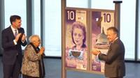 10-dollar bill featuring civil rights icon Viola Desmond unveiled. (photo courtesy CTV News)