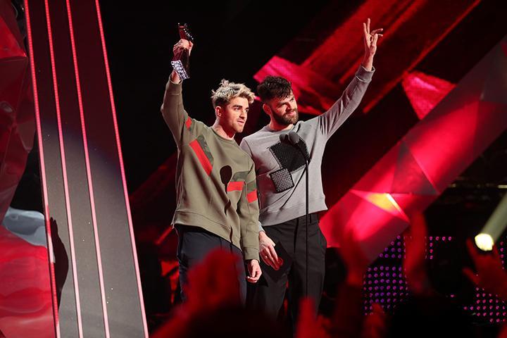 Chainsmokers, Ed Sheeran Among Winners At 2018 iHeartRadio