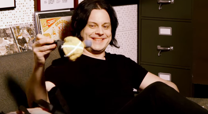 VIDEO: Jack White and a Bag of Stuff