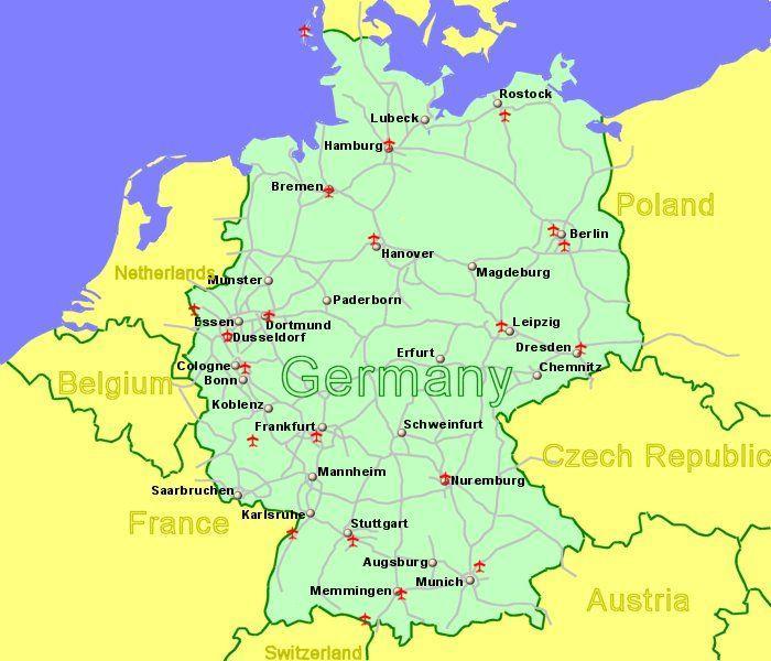 Map Of Germany Memmingen.Deadly Van Crash Into Crowd In Western Germany
