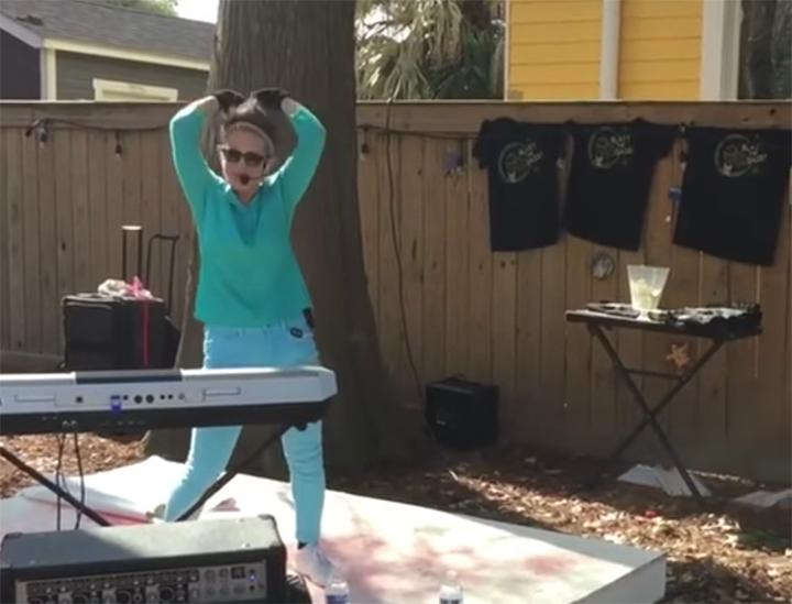 WATCH: Artist Performs Sexy Song In Front Of Kids