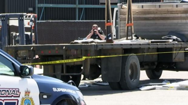 Man killed in workplace accident worked for Woodstock trucking