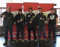 Winners of Skills Canada trades competition held in Bathurst on April 27th.