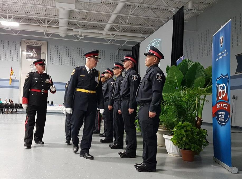 AM800-NEWS-Windsor-Police-new-recruits-with-Chief-Frederick-May-17-2018