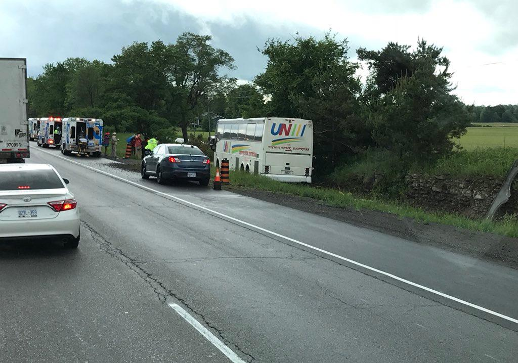 Bus crash update prescott