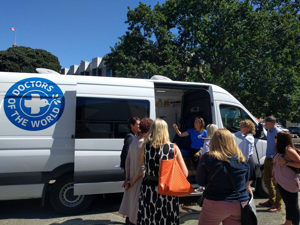 Mobile medical clinic launches in Victoria to provide healthcare for