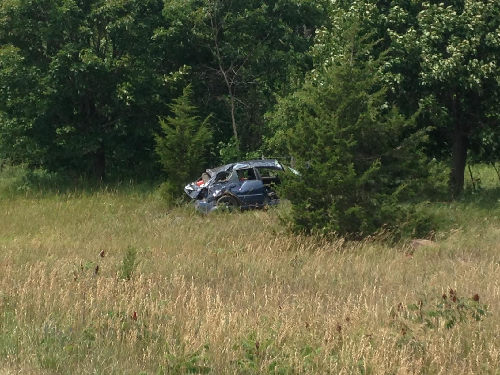 Man airlifted to hospital after rollover on Highway 401 near