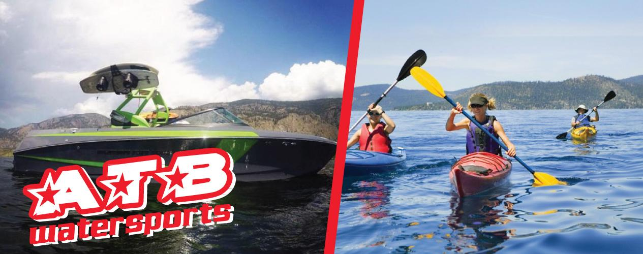 Experience the Okanagan ATB Watersports