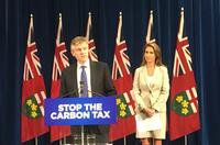Ministers Rod Phillips and Caroline Mulroney