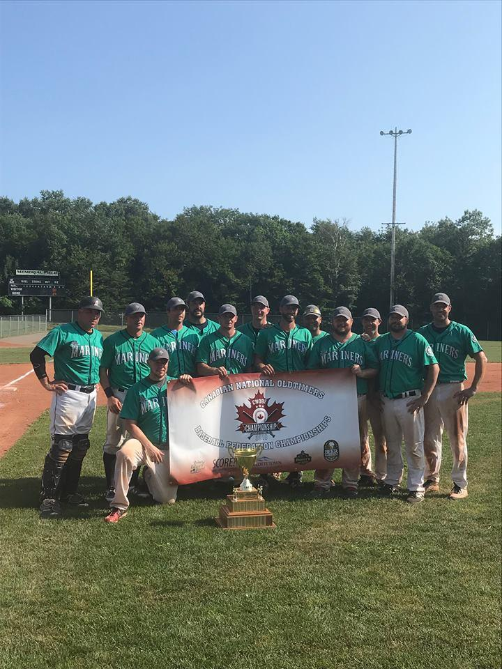 The Nova Scotia Mariners over 35 Baseball team (Submitted photo)