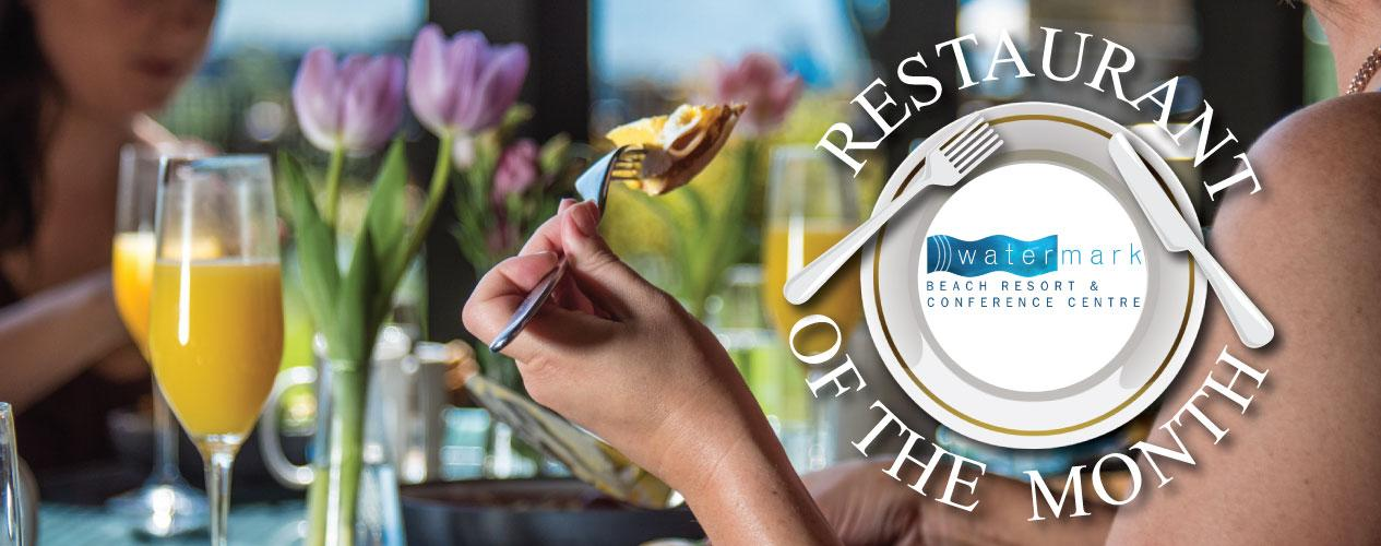 Restaurant of the month - Watermark beach resort