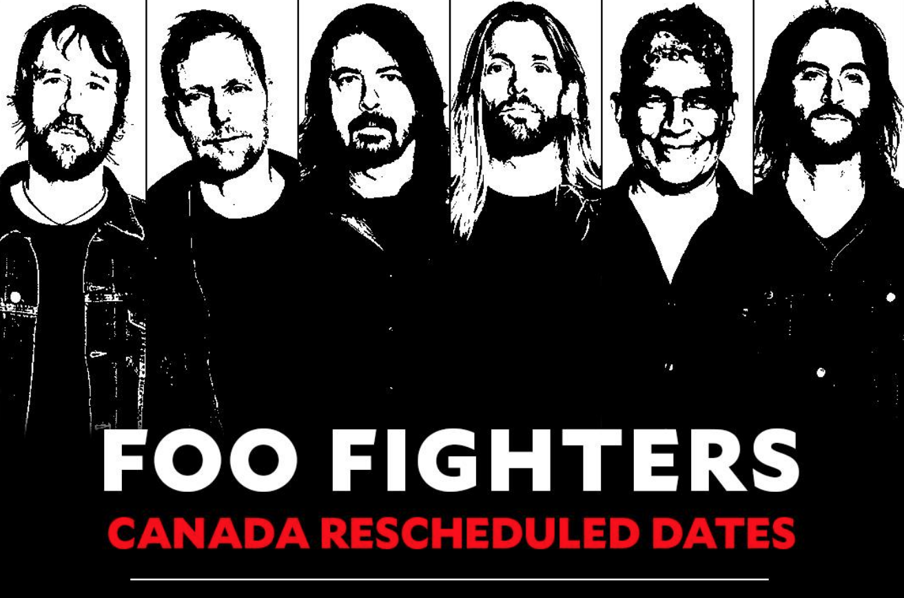 foo fighters reschedule alberta shows