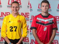 Brynn Nash, a keeper with the women's soccer team, and midfielder Alex O'Brien, from the men's soccer team, have been selected as the UNB Reds Athletes of the Week, for the week of Sept. 3-9.
