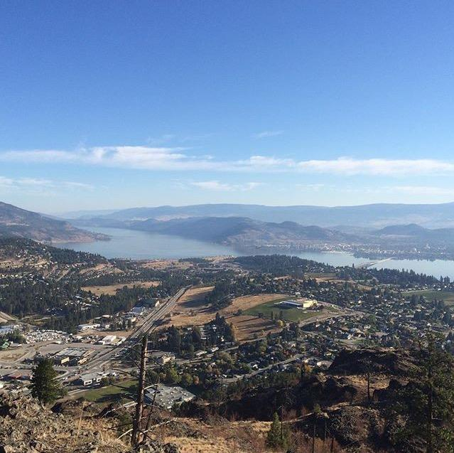 West Kelowna from Mount Boucherie