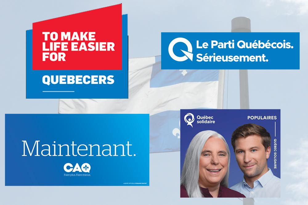 Final weekend of Quebec election campaign sees parties encouraging