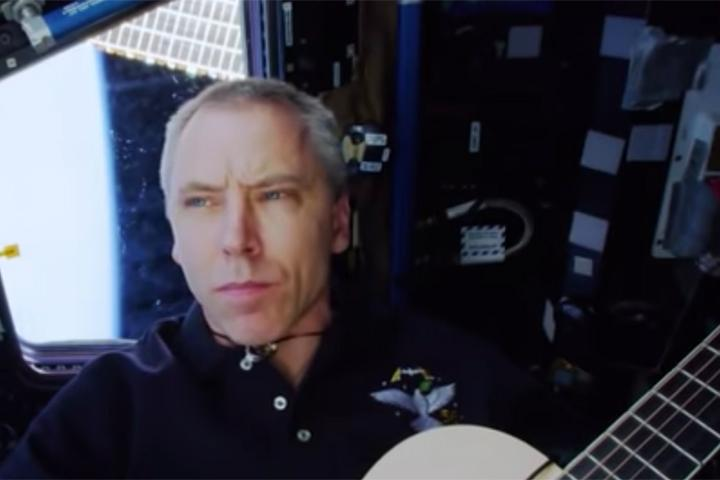 WATCH: U S  Astronaut Performs Canadian Song In Space
