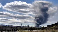 Irving Oil refinery explosion, Saint John (CTV Atlantic News photo)