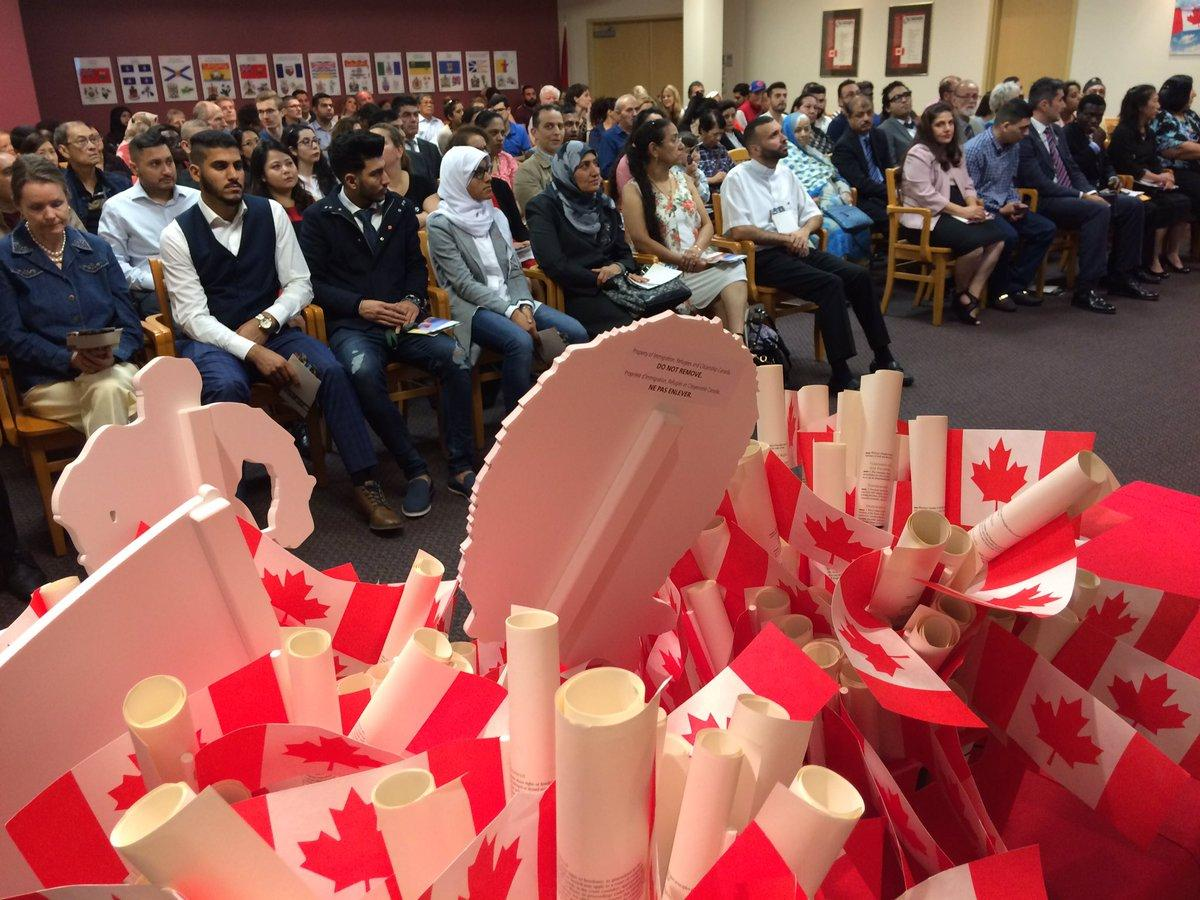 VIDEO: New Canadians In Windsor Give Thanks Following