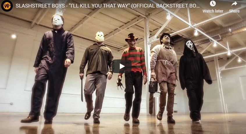 WATCH: The Slashstreet Boys just Won Halloween