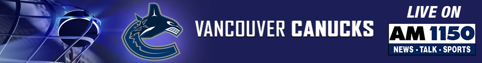 AM 1150 - Vancouver Canucks Banner 945