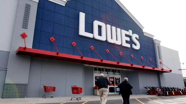 A Lowe's store in 2011