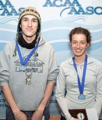 Kieran Thornell and Hannah Arseneault named ACAA Athletes of the Week (Submitted/ACAA)