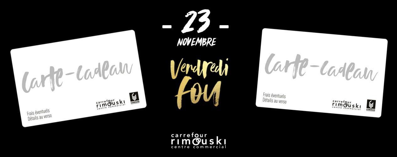 Carte Carrefour Rimouski.Gagne Ta Carte Cadeau De 100 Au Carrefour Rimouski