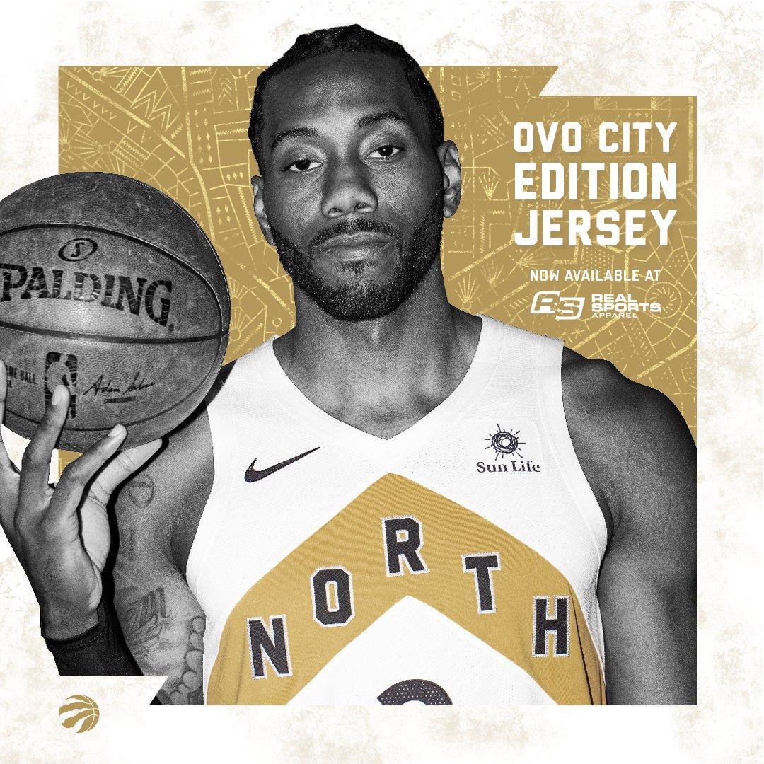 brand new a4c39 3f9f6 Toronto Raptors unveil new OVO jersey