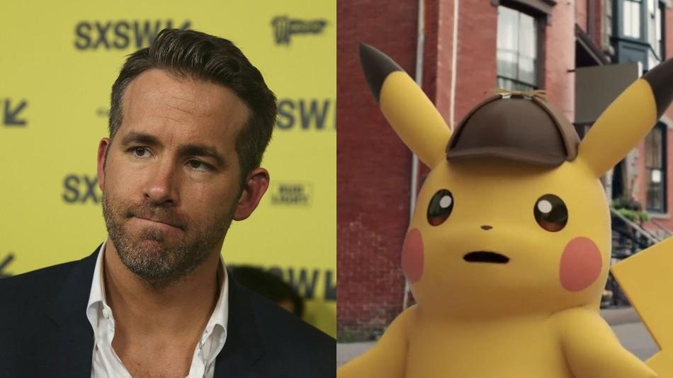 Ryan Reynolds Is The Voice Of Pikachu In New Pokemon Movie!