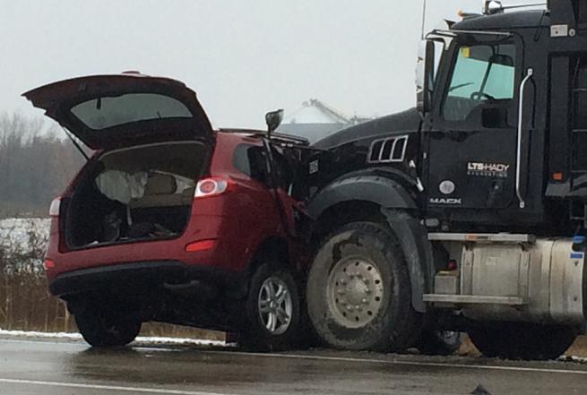Highway 3 Crash Sends One To Hospital