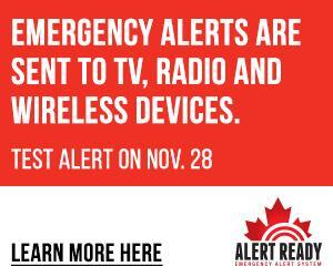 Alert Ready Emergency Notification System Test Today