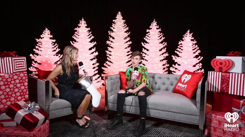 Iheartradio Christmas.Johnny Orlando Talks About Christmas Gifts