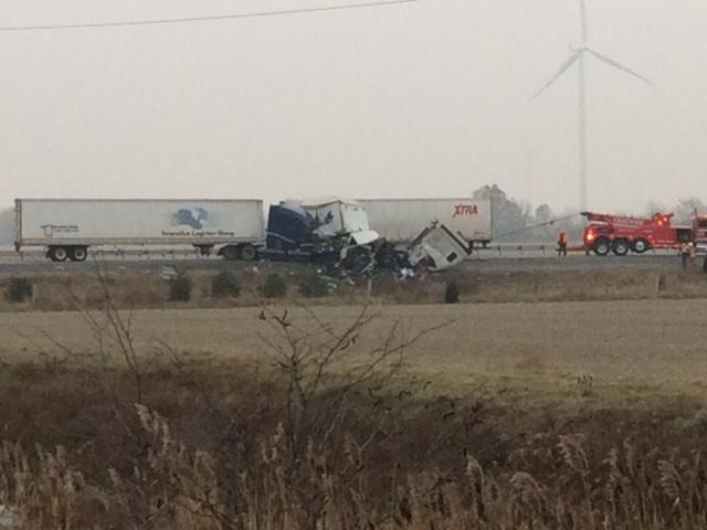401 Westbound Re-Opens In Chatham-Kent