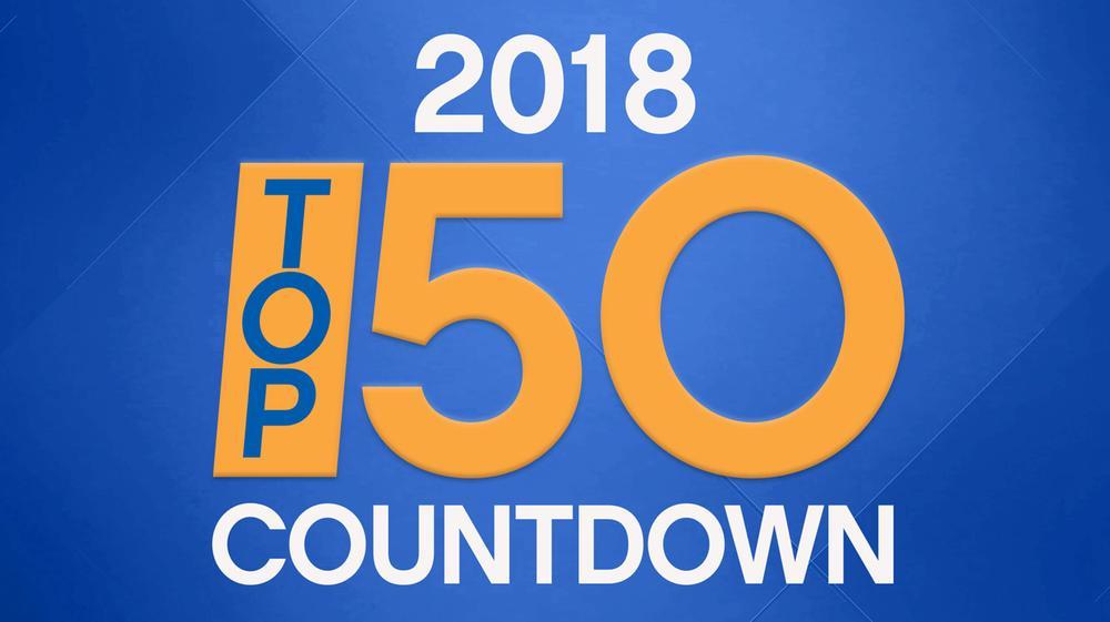MAJIC 100 Top 50 of 2018