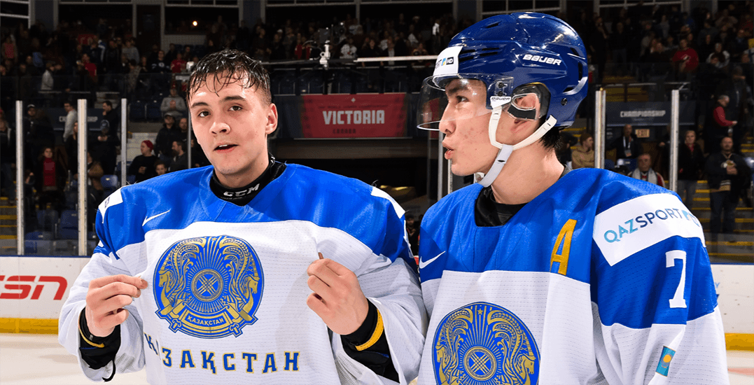 Victoria Throws Its Support Behind Kazakhstan At The World Juniors