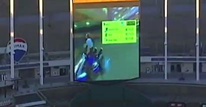 db274ee9 WATCH: Somebody Playing Mario Kart on a Baseball Stadium Video Board
