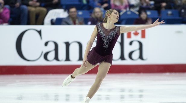 Alaine Chartrand - 2019 National Skating Championships