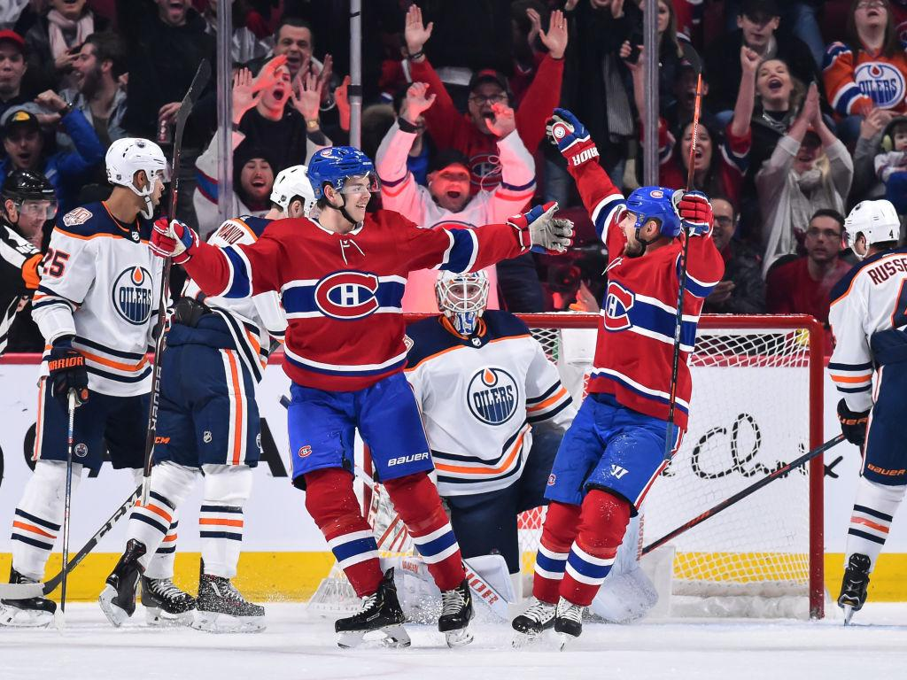 Canadiens Hand Oilers Fifth Straight Loss
