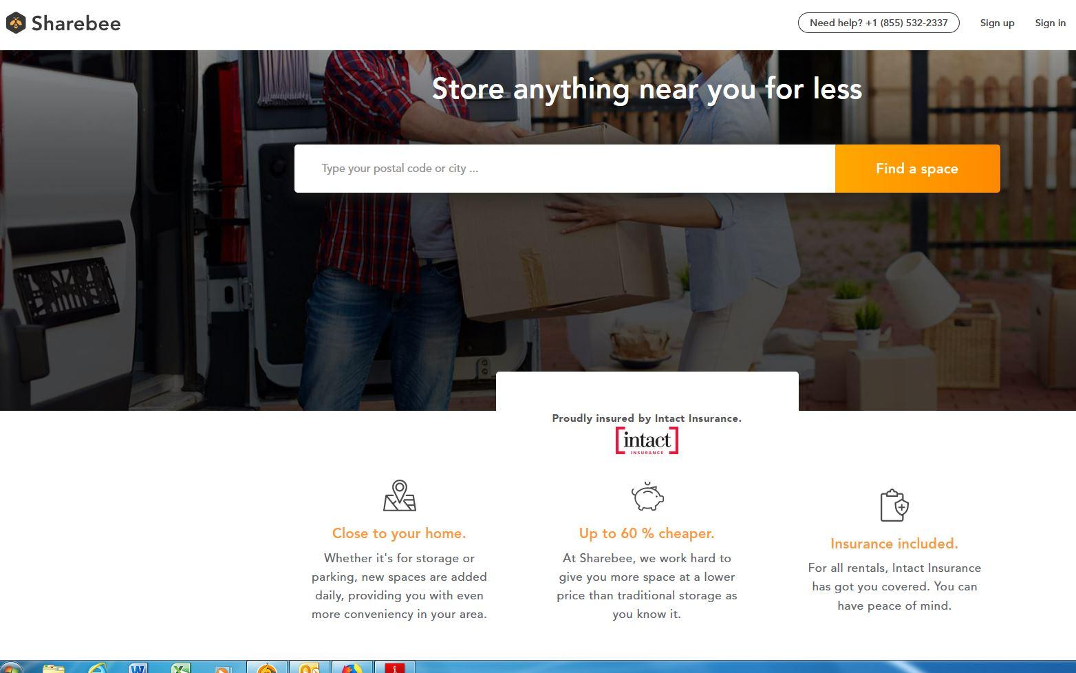A new platform wants to help you rent out your unused space