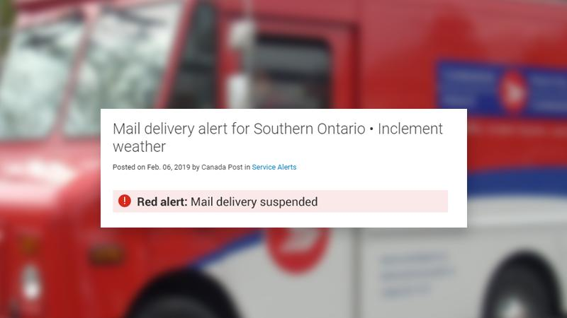 Canada Post Delivery Delays