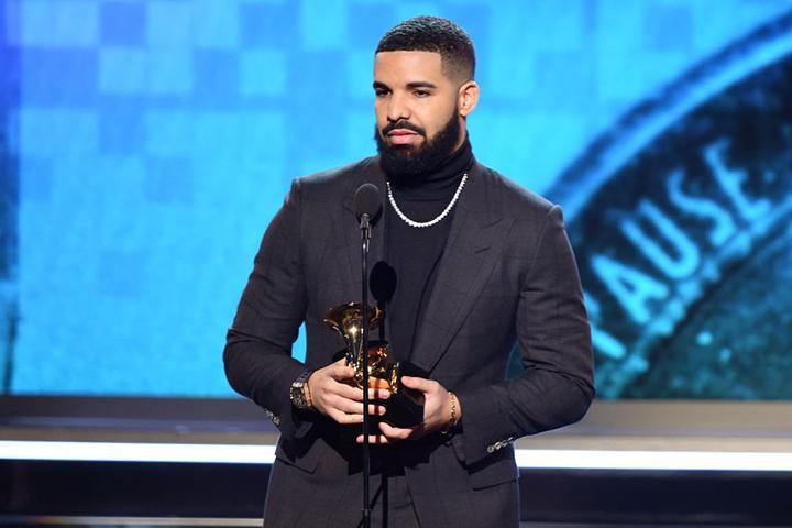 Drake Wins Grammy For 'God's Plan'