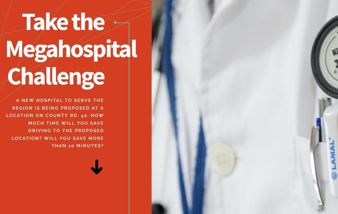UPDATE: App Tracks Travel Time to New Mega Hospital
